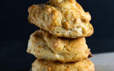 Golden Squash Drop Biscuits